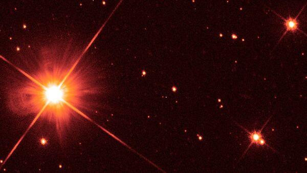 Проксима Центавра, кадр телескопа Хаббл