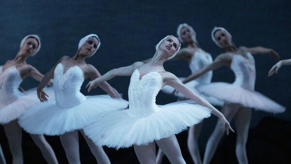 Репетиция 3D трансляции балета Лебединое озеро в Мариинском театре в Санкт-Петербурге