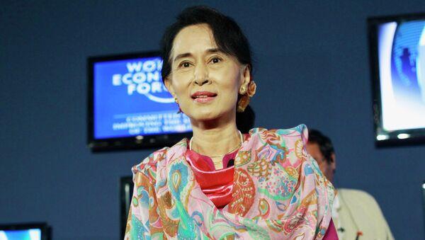 Аун Сан Су Чжи. Архивное фото