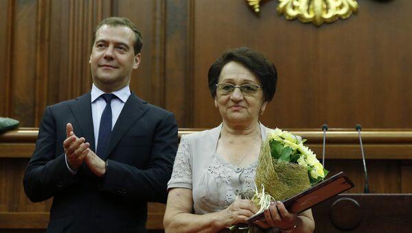 Дмитрий Медведев на мероприятиях к Дню социального работника