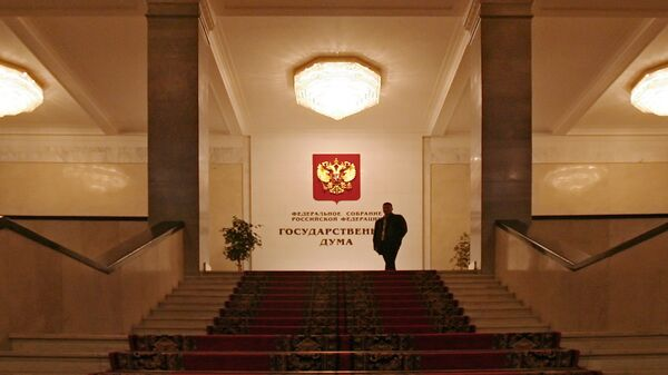 Государственная Дума РФ. Архивное фото