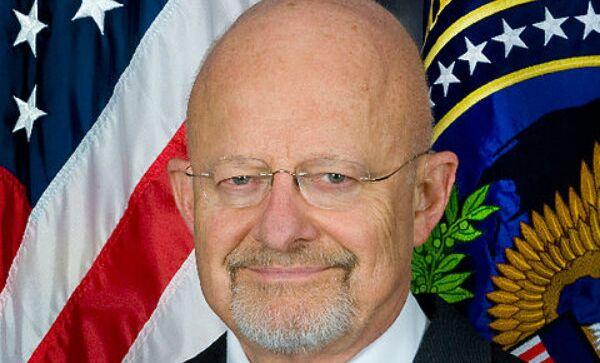 Директор национальной разведки США Джеймс Клэппер. Архив