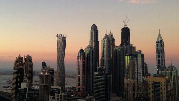 Спиральная башня Infinity Tower в престижном районе Дубая Dubai Marina