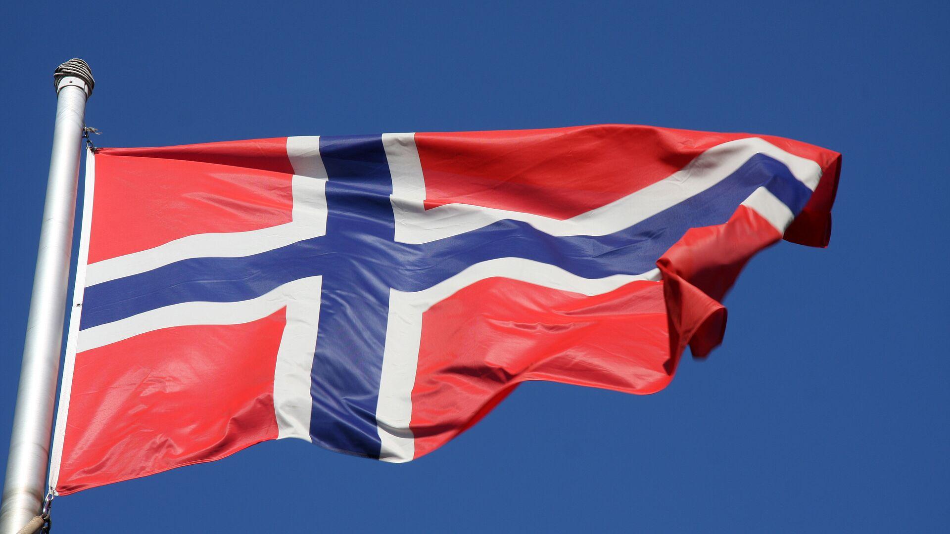Флаг Норвегии - РИА Новости, 1920, 19.03.2021