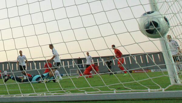 Сборная России открывает счет в матче