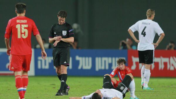 Окончание матча Россия - Германия