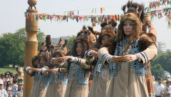 Якутский традиционный праздник Ысыах