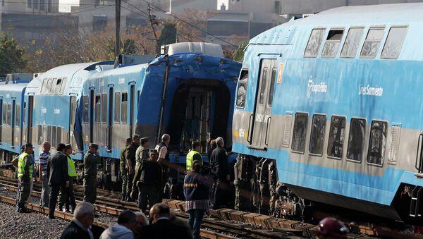 Столкновение поездов в Аргентине