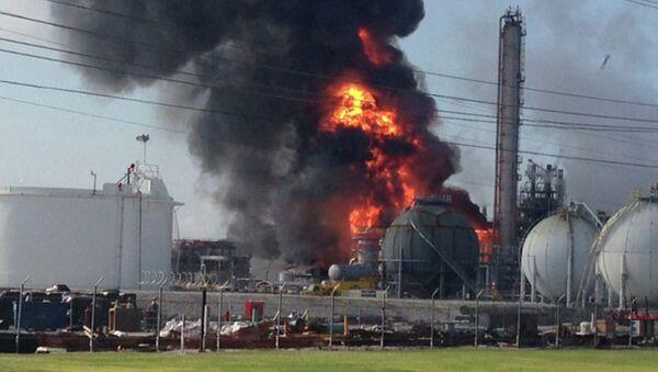 Взрыв в городе Гисмар на химзаводе Williams Olefins