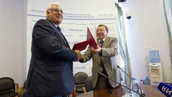 Подписание соглашения о сотрудничестве между ТГУ и ТГАСУ