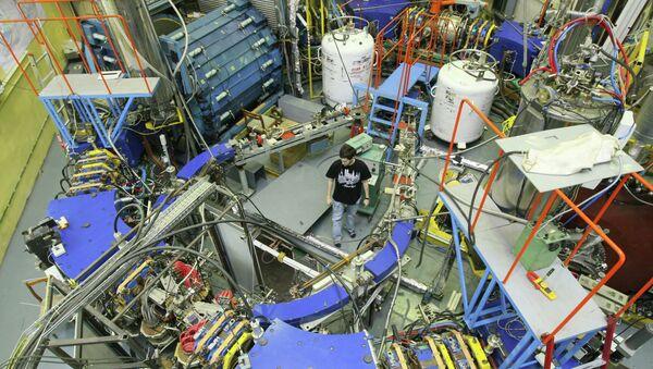 Институт Ядерной физики в Новосибирске. Архивное фото