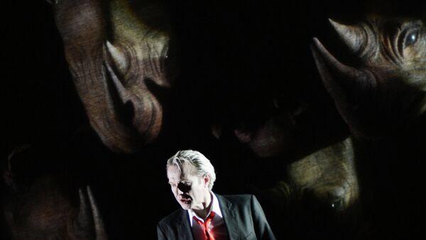 Премьера спектакля Носорог в постановке Эмманюэля Демарси-Мота