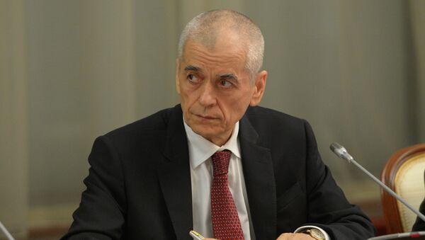 Главный государственный санитарный врач России Геннадий Онищенко