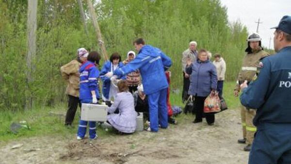 Пострадавшие в ДТП на трассе Тюмень – Ханты-Мансийск