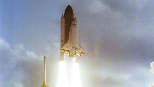 Запуск шаттла Челленджер, 1983 год