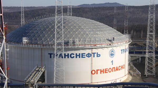 Нефтеперекачивающая станция. Архивное фото
