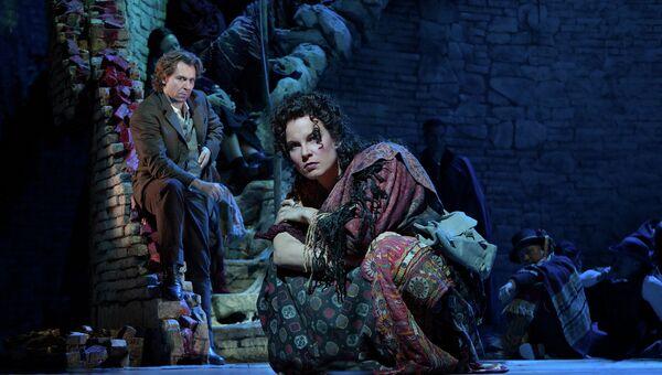 Сцена из оперы Кармен