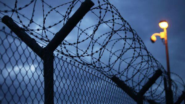 Забор в тюрьме