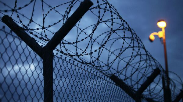 Забор в тюрьме. Архивное фото
