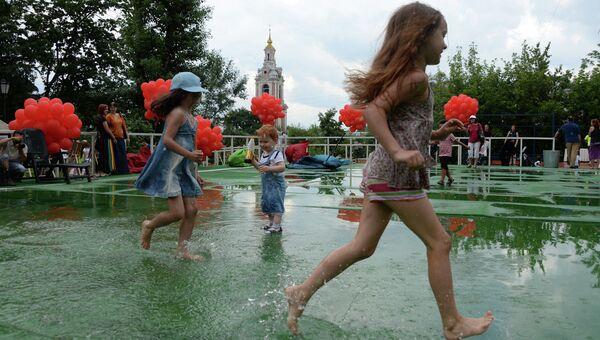 Летний праздник The Moscow News Culture Clash – Gorodki & BBQ Party