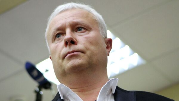 Оглашение приговора по делу банкира А.Лебедева. Архивное фото