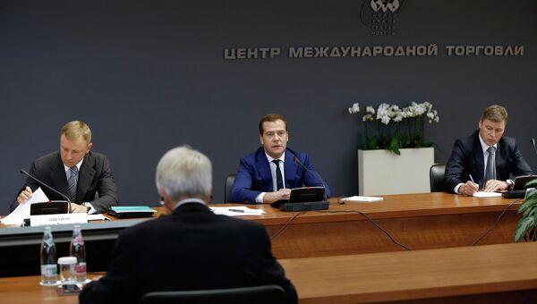 Заседание совета по повышению конкурентоспособности вузов