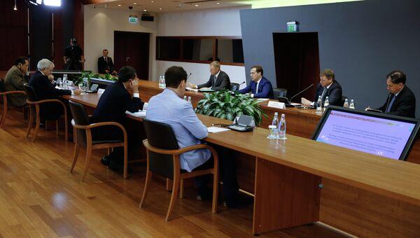 Заседание совета по повышению конкурентоспособности вузов РФ