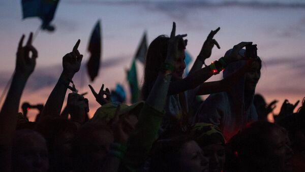 Рок-концерт. Архивное фото