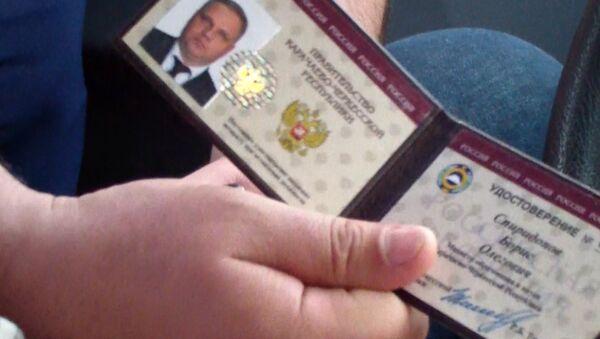 В Черкесске задержан министр образования КЧР Б.Спиридонов. Архивное фото