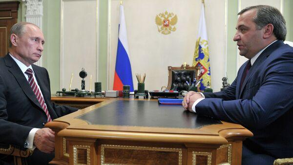 В.Путин встретился с В.Пучковым