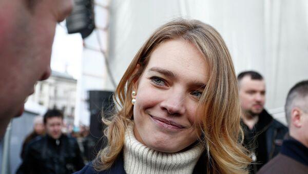 Российская топ-модель и общественный деятель Наталья Водянова. Архивное фото