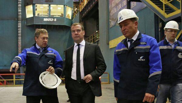Рабочая поездка Д.Медведева в Челябинск