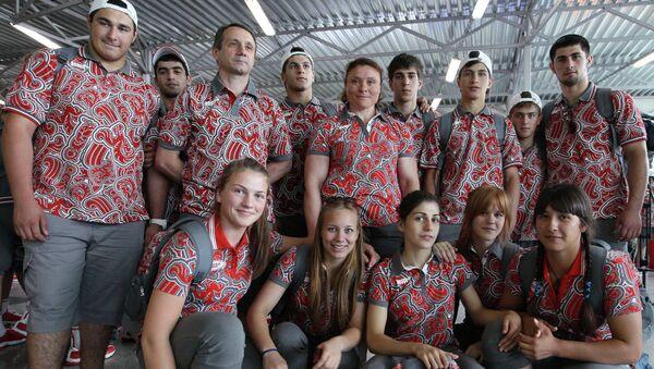 Проводы юношеской сборной РФ на ЕЮОФ - 2013