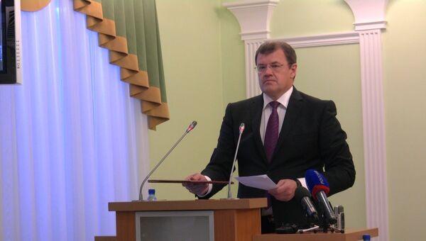 Заявление Николайчука об отставке