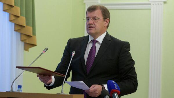 Мэр Томска Николай Николайчук на внеочередном собрании гордумы объявил об отставке