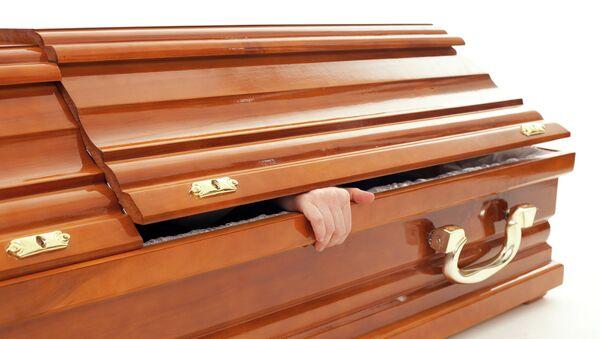 Гроб, похороны