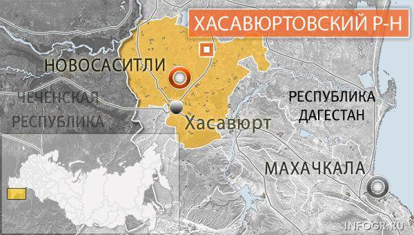 Селение Новосаситли Хасавюртовского района Дагестана