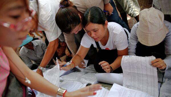 В Камбодже проходят парламентские выборы