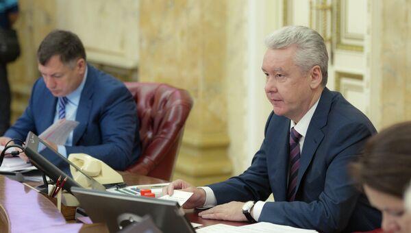 С. Собянин. Архив