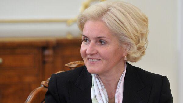 Вице-премьер РФ по социальным вопросам Ольга Голодец, архивное фото.