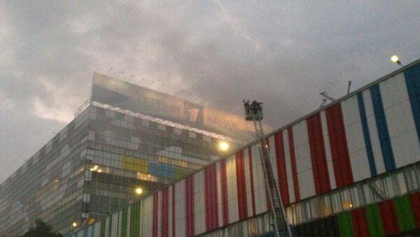 Пожар в телецентре Останкино