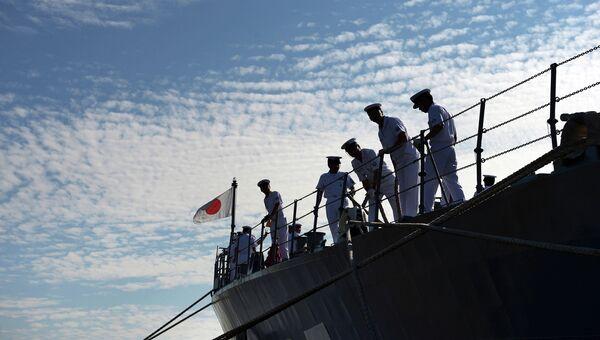 Миноносец Морских сил самообороны Японии. Архивное фото