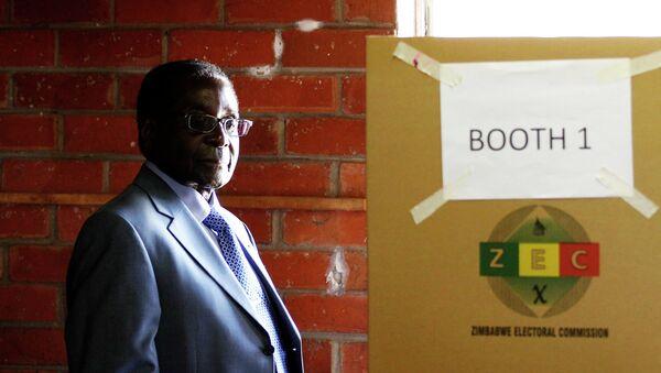 Действующий президент Зимбабве 89-летний Роберт Мугабе