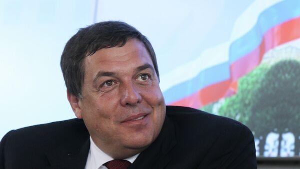 Александр Любимов. Архивное фото