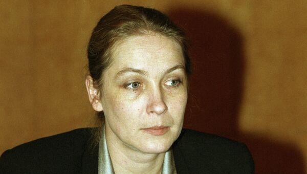 Ксения Пономарева. 1997 год. Архивное фото