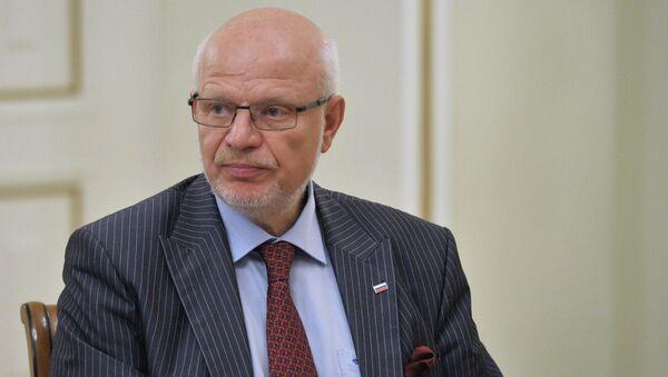 Председатель Совета при президенте РФ по развитию гражданского общества и правам человека Михаил Федотов, архивное фото