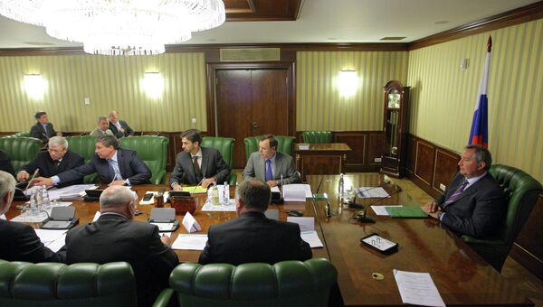 Заседание комиссии по расследованию аварии ракеты Протон-М
