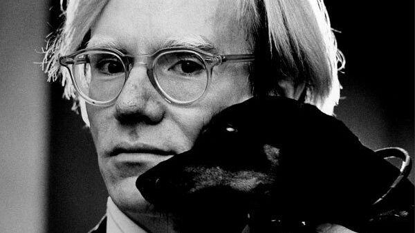 Американский художник Энди Уорхол. Архивное фото