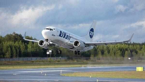 Boeing 737-500 компании ЮТэйр. Архивное фото