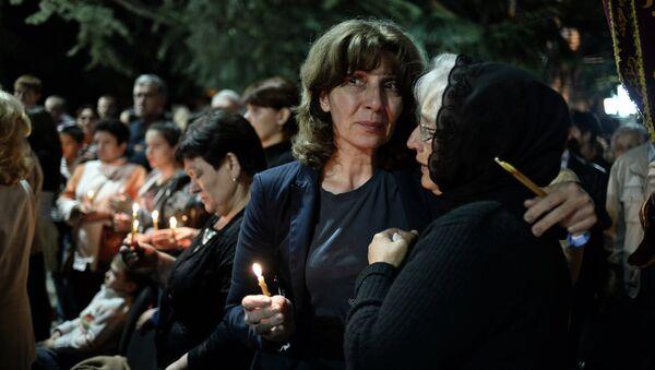 Акция памяти в связи с 5-й годовщиной событий в Южной Осетии